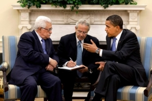 Abbas and Obama 2009