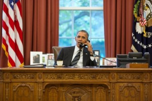 Obama on phone with Rouhani