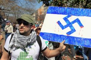 israeli-flag-turned-swastika-4453720158_3f639a1ea52-450x299