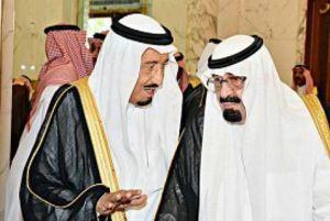 Saudi-king-abdullah-with-crown-prince-Salman-300x181