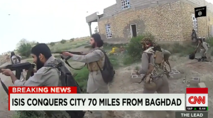 70 miles from Baghdad
