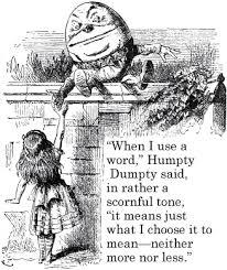Humpty words