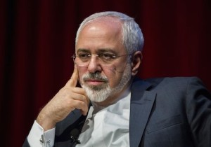 Iranian Foreign Minister Mohammad Javad Zarif speaks at the New York University (NYU) Center on International Cooperation in New York April 29, 2015. REUTERS/Lucas Jackson