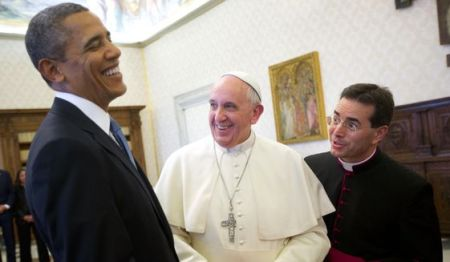 Obama and Francis