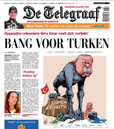 Netherlands cartoon