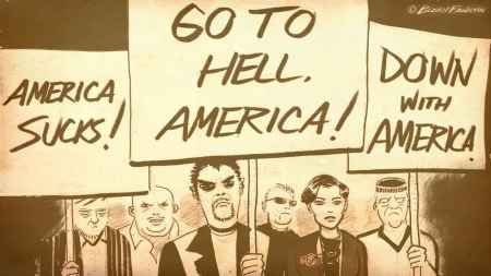 Go to hell America