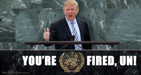 Trump fire UN