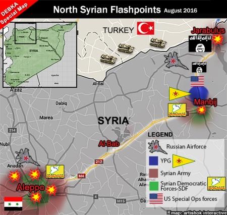 n syria flashpoints