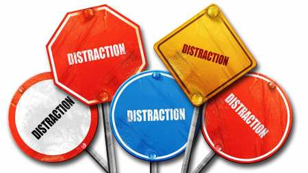 distraction-signs