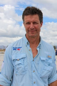 Dr. Ian Norton, from the World Health Organization, takes part in Australia's disaster relief effort in The Philippines after a typhoon wreaked havoc on the island nation in 2013. (Gemma Haines/ Australian Department of Foreign Affairs and Trade/Wikimedia)