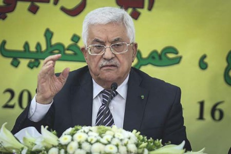 Palestinian Authority President Mahmud Abbas (C) chairs a meeting with the Revolutionary Council of his ruling Fatah party on June 16, 2015 in the West Bank city of Ramallah. Photo by STR/Flash90 *** Local Caption *** ??? ???? ????? ???? ?????? ????? ????????? ????