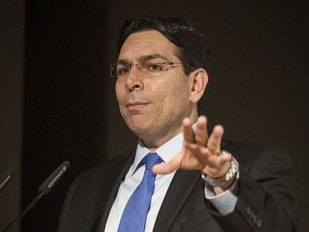 Israeli Ambassador to the UN, Danny Danon, speaks at the Conference for Fighting Anti-Semitism, at the Begin Center in Jerusalem, on January 31, 2016. Photo by Hadas Parush/Flash90 *** Local Caption *** ??? ???? ????? ????? ???? ??? ????????? ??????? ???? ????