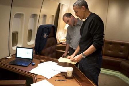 ben-rhodes-and-president-obama-on-board-air-force-one