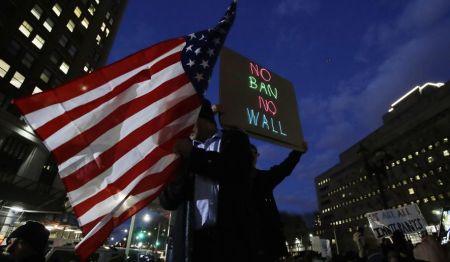 immigranbanprotests