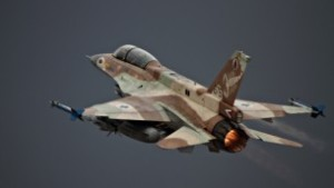 Illustrative: An Israel Air Force airplane F-16 takes off, June 28 2010. (Ofer Zidon/Flash90)