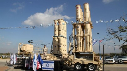 The Arrow 3 missile defense system that was delivered to the Israeli Air Force on January 18, 2017. (Defense Ministry)