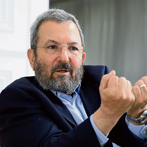 Ehud Barak at his Tel Aviv home last week: 'Who does the government think will replace the PA? Beitar? Bnei Akiva? No, Hamas.' (Photo: Shaul Golan)