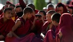young budist monks