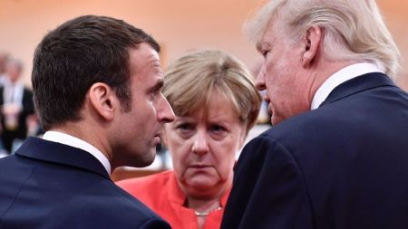 French, German leaders will bring Trump the same message: Save the Iran nuclear deal