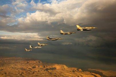 israeli air force blue flag israel
