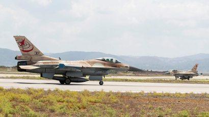 F-16 aircraft, Ramat David base (Photo: AFP)