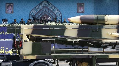 Iranian missile threat (Photo: Reuters)