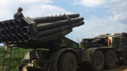 The Uragan rocket launcher was destroyed by Israel Monday (Photo: IDF Spokesperson's Unit)