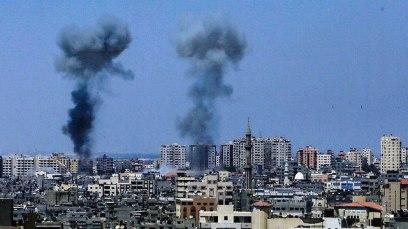 IDF bombings in Gaza