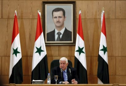 Syrian Foreign Minister Walid Muallem  (Photo: Reuters)