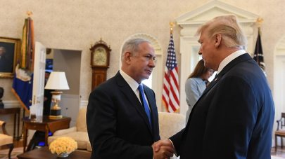 Netanyahu and Trump. Statistics say the chance of winning a large sum again is very small, and this also applies to Trump as a prize (Photo: Haim Katz/GPO)