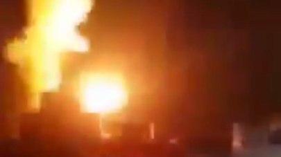 An IAF strike in Gaza, Tuesday night