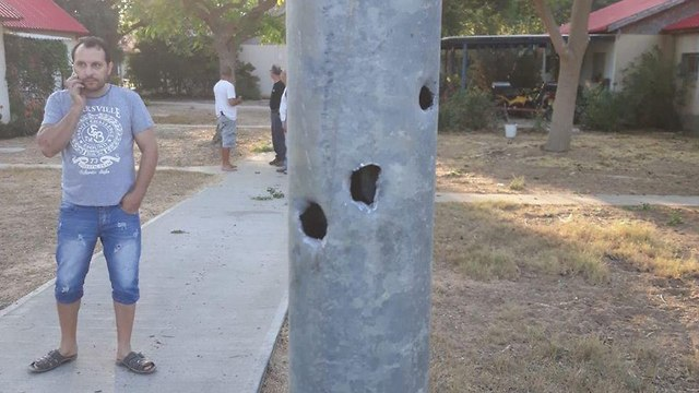 Damage caused by Hamas rocket fire in a Gaza border community  (Photo: Eshkol Security)