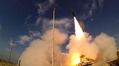 Arrow 3 (Photo: Defense Ministry Spokesman)