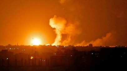 IDF attacks in Gaza (Photo: AFP)