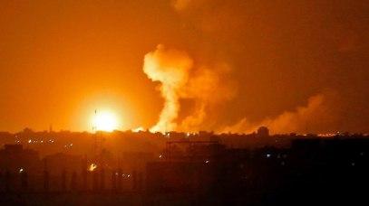 IDF attacks in Gaza (Photo: AFP)