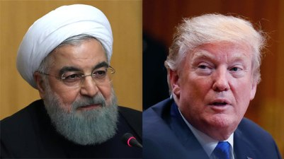 Iranian President Hassan Rouhani and US President Donald Trump (Photo: AFP, Getty Images)