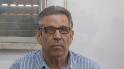 Gonen Segev in court (Photo: Olivier Fitoussi)
