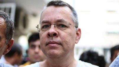 Pastor Andrew Craig Brunson  (Photo: AFP)