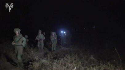IDF training in the north (Photo: IDF Spokesperson's Unit)