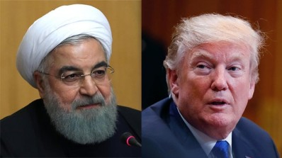 President Rouhani and President Trump (Photo: AFP, Getty Images)