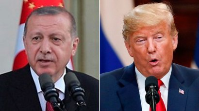 Turkish President Recep Tayyip Erdogan  and President Donald Trump (Photo: Reuters)
