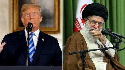 US President Donald Trump; Iranian Supreme Leader Ayatollah Khamenei (Photos: Reuters)