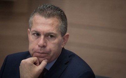 Strategic Affairs Minister Gilad  Erdan attends a committee meeting in the Knesset, on July 2, 2018. (Hadas Parush/Flash90)