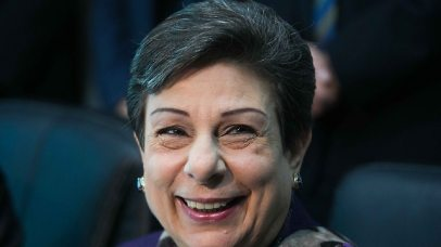 Hanan Ashrawi (Photo: Ohad Zwigenberg)