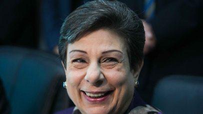 Hanan Ashrawi (Photo: Ohad Zwigenberg)