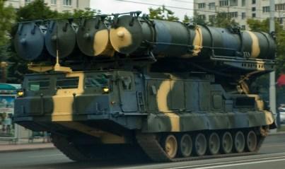 S-300 V missile system