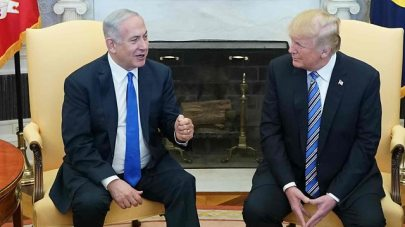 President Trump with PM Netanyahu (Photo: AFP)
