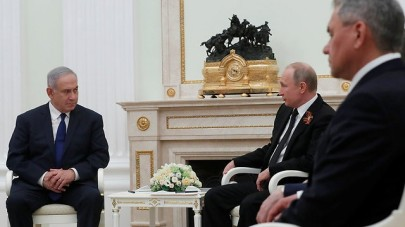 PM Netanyahu with President Putin during visit to Moscow (Photo: Reuters)