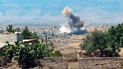 Attacks on Idlib, Syria (Photo: AP)