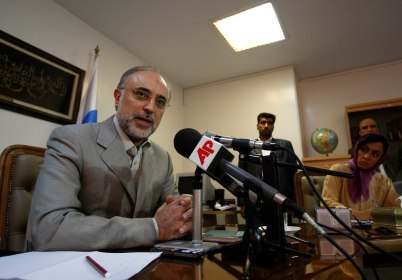 Ali Akbar Salehi (Photo: AP)